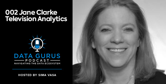 Jane Clarke Television Analytics Data Gurus Podcast