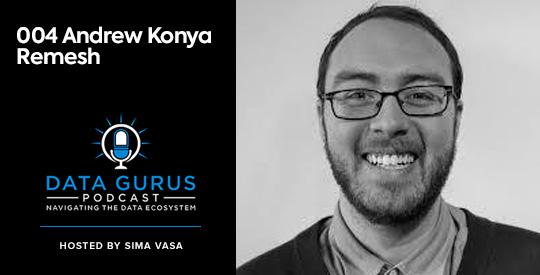 Andrew Konya - Remesh Data Gurus Podcast