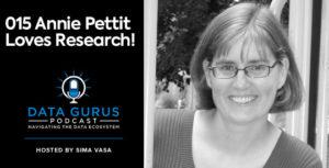 Annie Pettit Loves Research Data Gurus Podcast