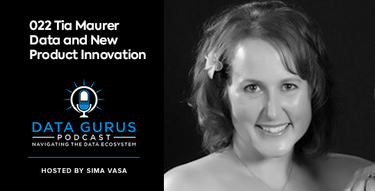 Tia Maurer Data and New Product Innovation